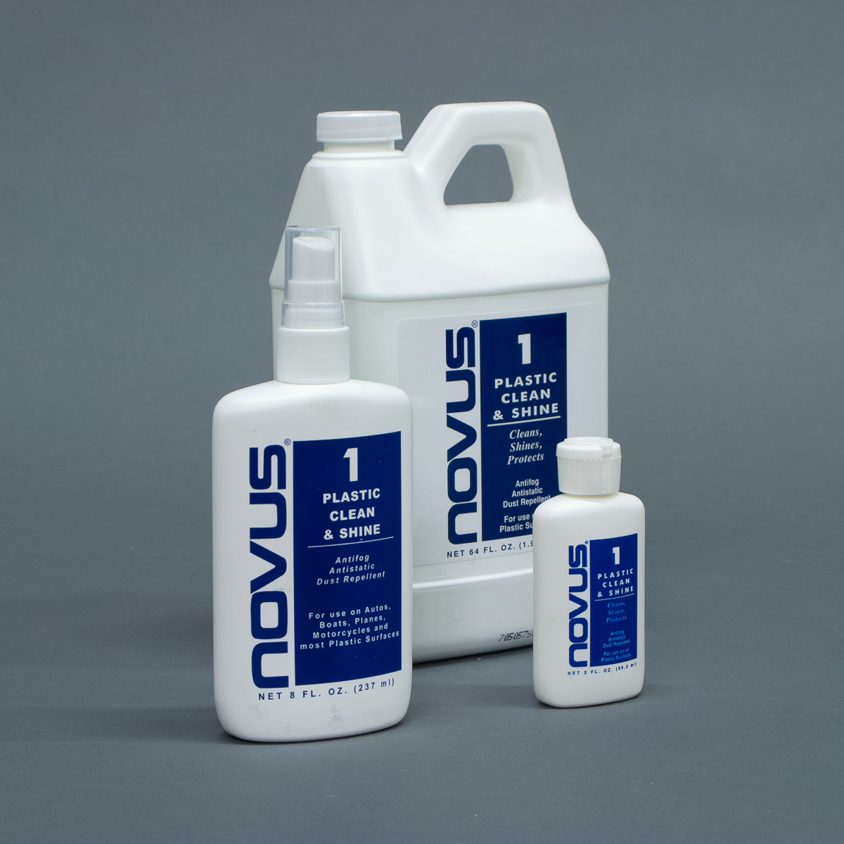 Novus Plastic Polish No. 1 Plastic Clean and Shine