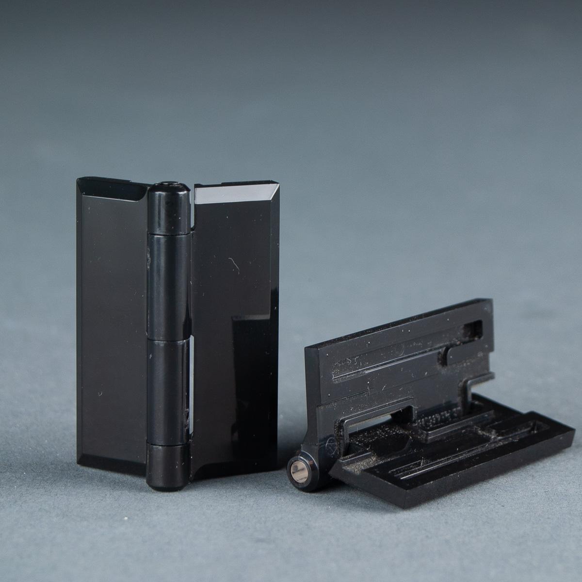 Plasti-Hinge Black Acrylic Hinge