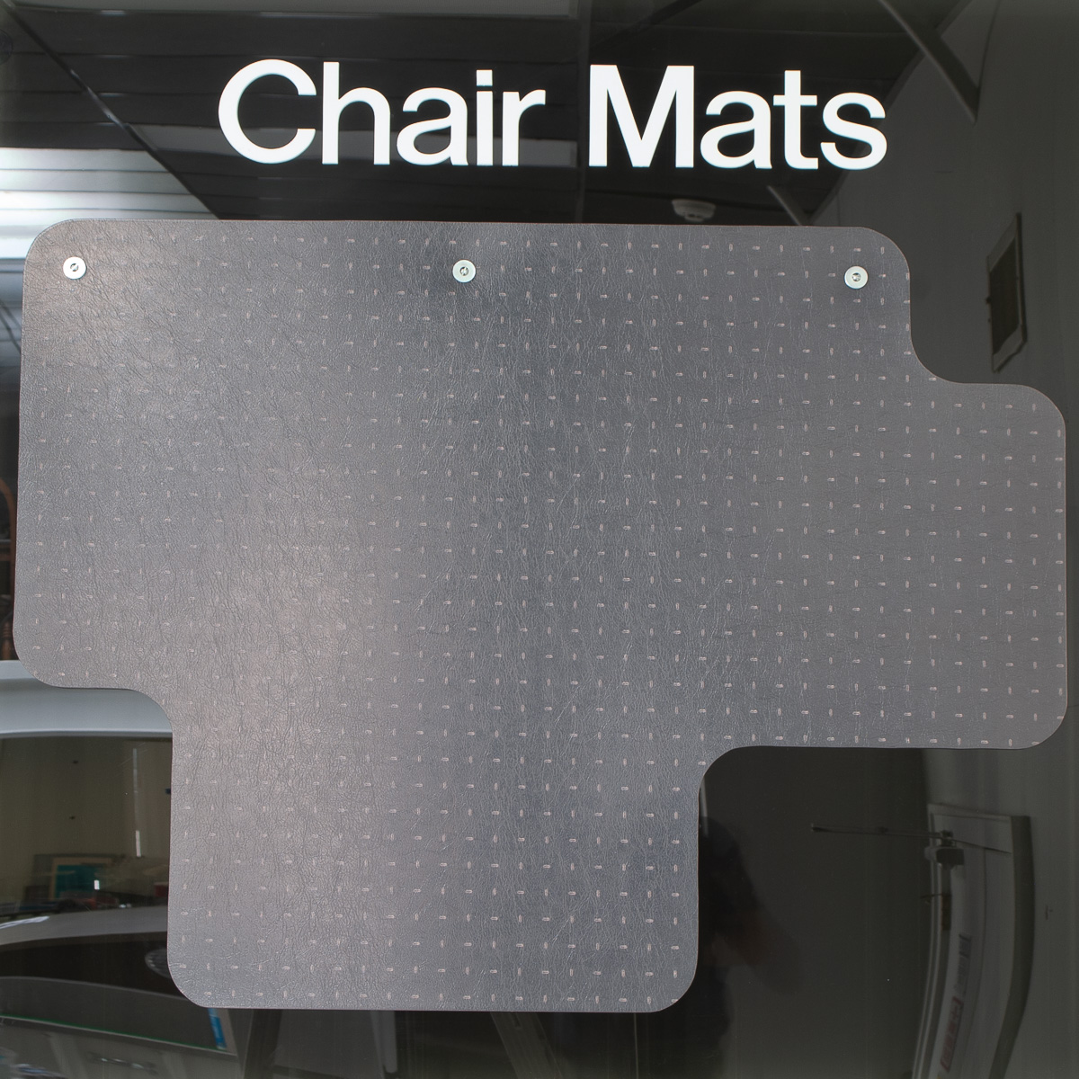Custom and standard chair mat profiles by Lustercraft