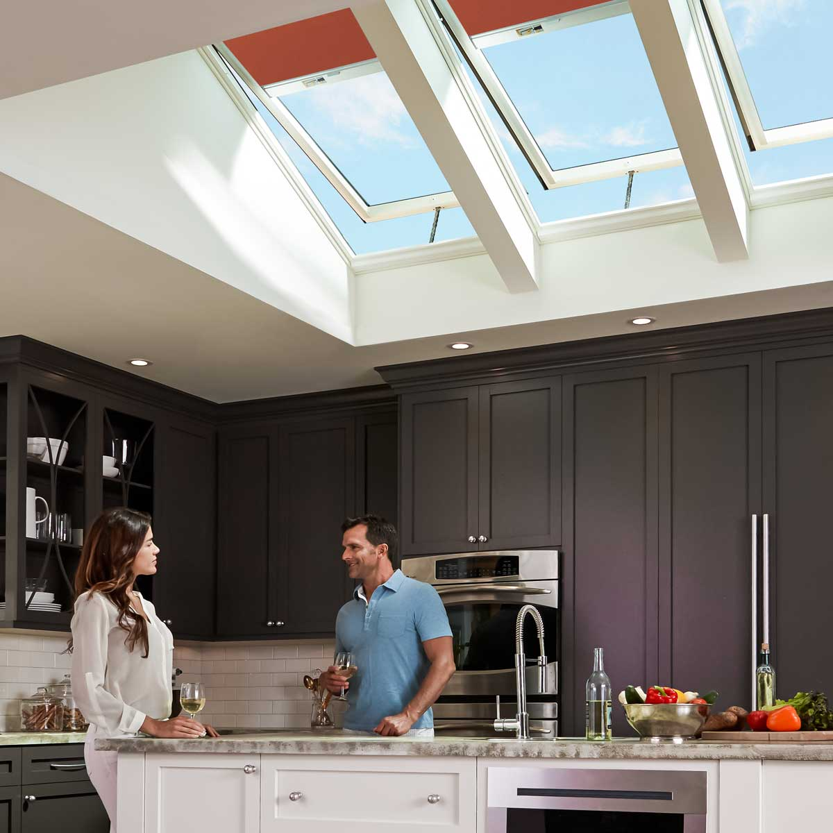 Velux Electric Fresh Air, VCE